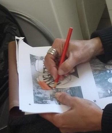 Ana Paula Rocha - Mãos a desenhar